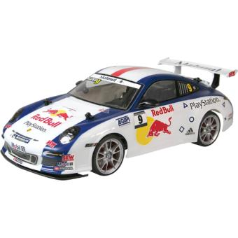 voiture radiocommand e porsche 911 gt3 red bull 1 14e nikko voiture radio command. Black Bedroom Furniture Sets. Home Design Ideas