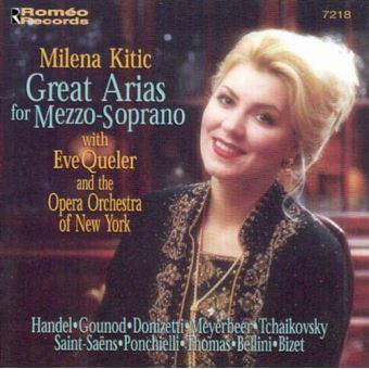 Milena kitic great arias formezzo soprano