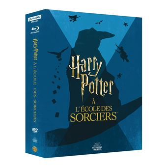 Harry PotterHarry Potter à l'école des sorciers Blu-ray 4K Ultra HD