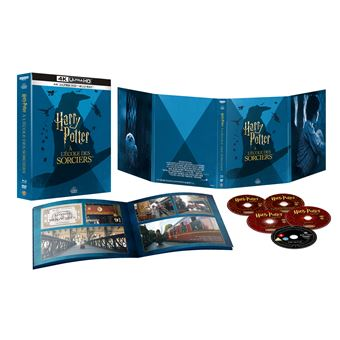 Harry PotterHarry Potter à l'école des sorciers Blu-ray 4K Ultra HD