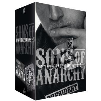 Sons of AnarchySons of Anarchy - Coffret intégral des Saisons 1 à 5 DVD