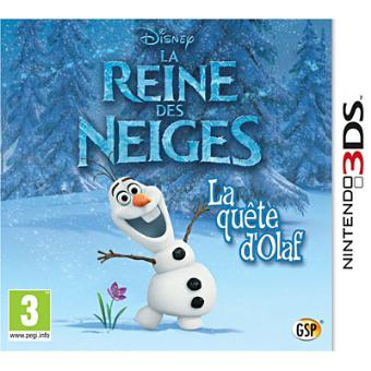 frozen la reine des neiges 3ds jeux vid o achat prix fnac. Black Bedroom Furniture Sets. Home Design Ideas
