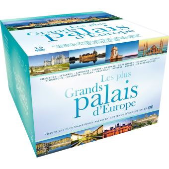 Coffret Les plus grands palais d'Europe DVD