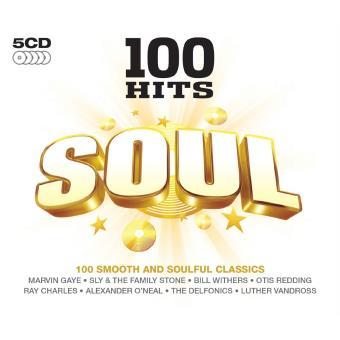 100 hits Soul - 5 CD