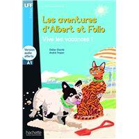 LFF A1 : Albert et Folio - Vive les vacances ! + audio MP3 téléchargeable (A1)