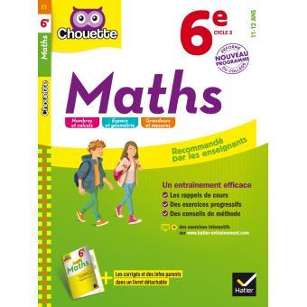 Maths 6eme Cycle 3 Workbook