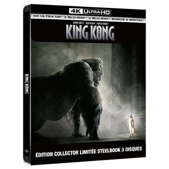King KongKing Kong Steelbook Edition Collector Limitée Blu-ray 4K Ultra HD