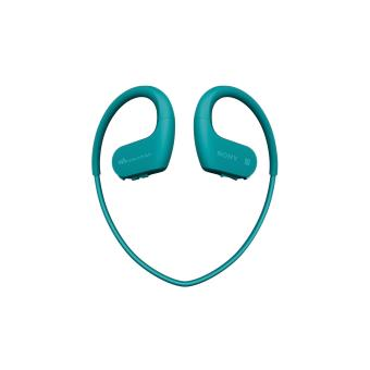 Lecteur MP3 Casque Sport Sony NWWS623 4 Go Bluetooth NFC Bleu