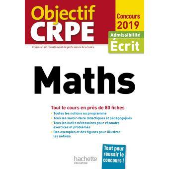 Objectif CRPE En Fiches Maths 2019