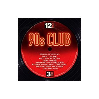 12 Inch Dance: 90's Club - 3 CD