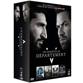 Les enquêtes du département VCoffret Les Enquêtes du Département V 4 Films DVD