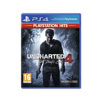 UNCHARTED 4: A THIEF'S END PLAYSTATION HITS FR/NL PS4