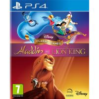 Disney classic games : Aladdin and The lion king FR/NL PS4