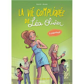 La vie compliquée de Léa OlivierLa vie compliquée de Léa Olivier BD
