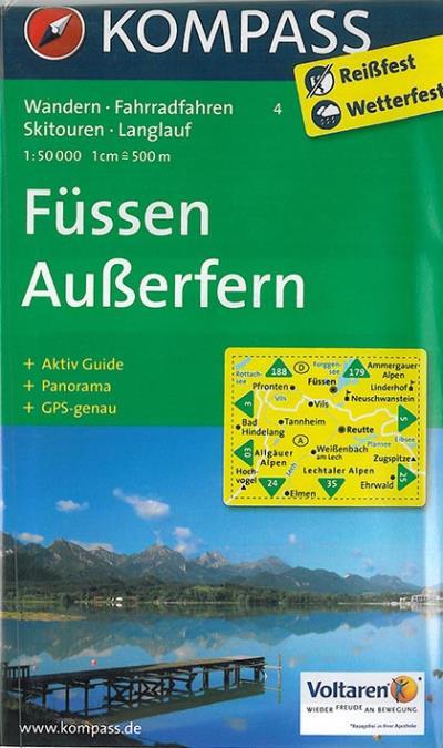 Fussen-auberfern 1/50 000