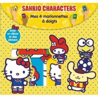 Sanrio Characters Mes 4 Marionnettes à Doigts