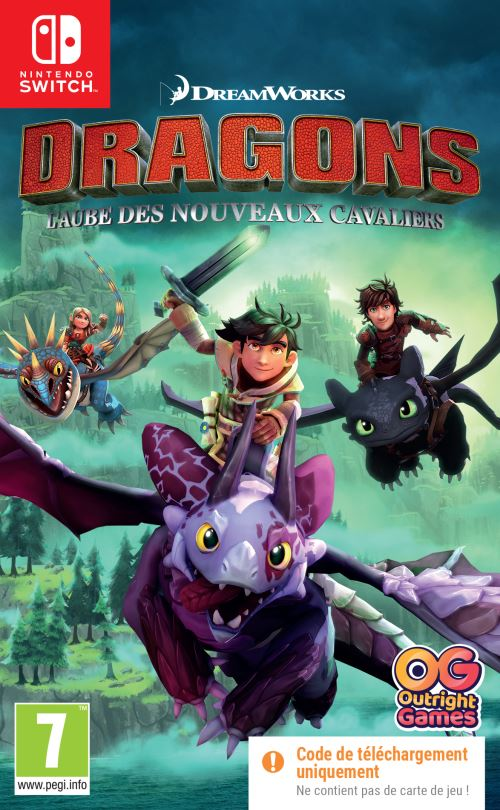 Dragons L'aube des nouveaux cavaliers Code in the Box Nintendo Switch