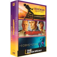Coffret Bohemian Rhapsody, 3 Billboards et La Forme de l'eau Edition Spéciale Fnac DVD