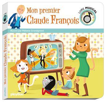 Livre Musical Mon Premier Claude Francois