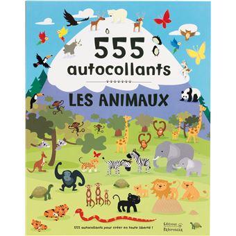 Les Animaux - 555 autocollants