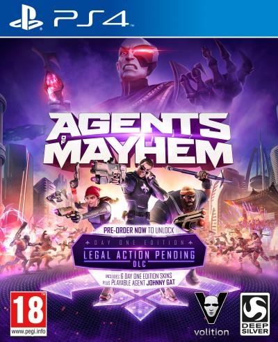 Agents of Mayhem Edition Day One PS4