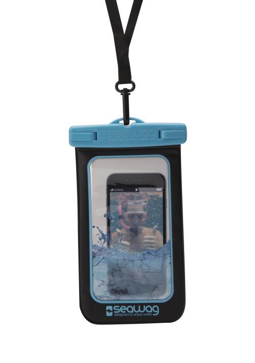 Coque étanche Seawag Noir et Bleu pour smartphone