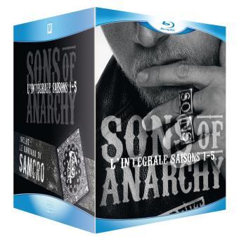 Sons of AnarchySons of Anarchy - Coffret intégral des Saisons 1 à 5 Blu-Ray