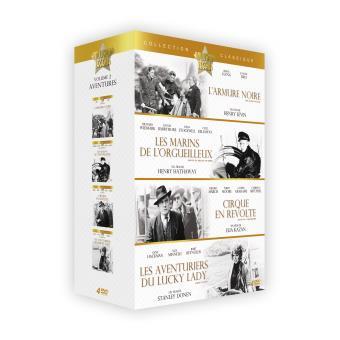 Coffret Les Aventures 4 films DVD