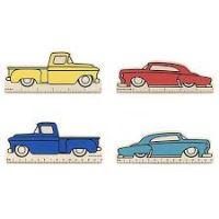 Car Rulers Asst