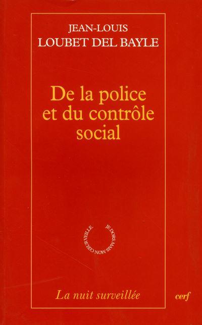 De la police et du contrôle social