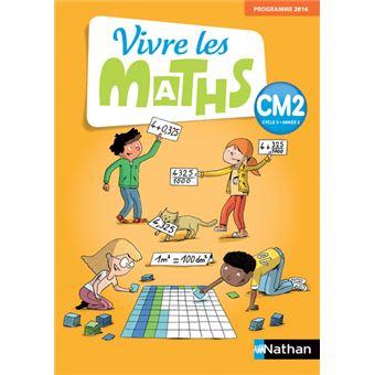 Vivre les Maths CM2 Cycle 3 Année 2, Fichier d'exercices Workbook