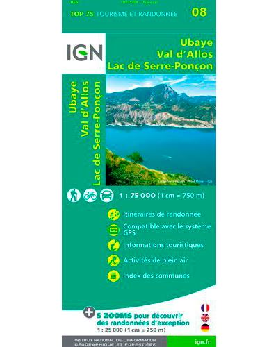 Top 75 Ubaye Val d'Allos Lac de Serre-Poncon