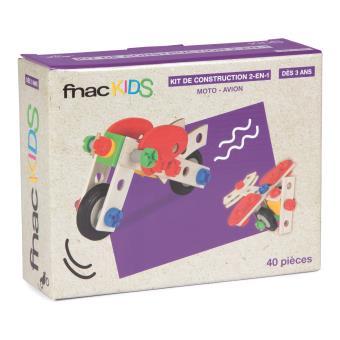 Kit de construction 2-en-1 Fnac Kids 40 pièces