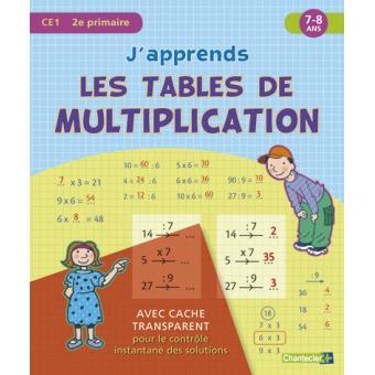 Download Book Japprends Les Tables De Multiplication 78 Ans
