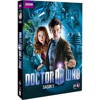 Doctor WhoCoffret Doctor Who Intégrale de la Saison 5 DVD