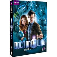 DOCTOR WHO 5-COFFRET-5 DVD-VF