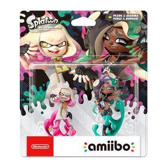 Pack de 2 figurines Amiibo Splatoon Perle et Coralie