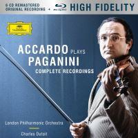 Accardo plays Paganini Complete Recordings Coffret Inclus Blu-ray Audio Edition limitée