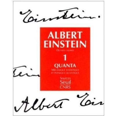 Oeuvres choisies. Quanta. Mécanique statistique et physique quantique