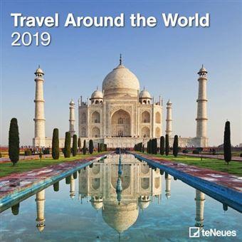 Travel Around the World Kalender 2019