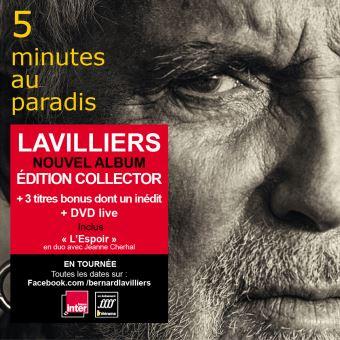 5 Minutes au Paradis Edition Collector limitée Inclus DVD Album dédicacé Quantité limitée