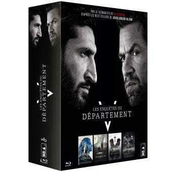 Les enquêtes du département VCoffret Les Enquêtes du Département V 4 Films Blu-ray