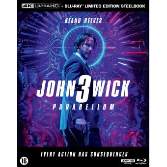 JOHN WICK 3 BIL-BLURAY 4K STEELBOOK
