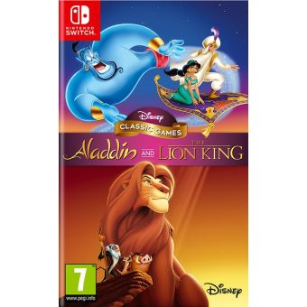 DISNEY CLASSIC GAMES ALADDIN AND THE LION KING FR/NL SWITCH