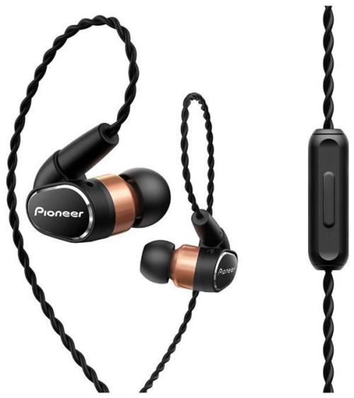 Ecouteurs Pioneer SE-CH9T-K Noir et Or