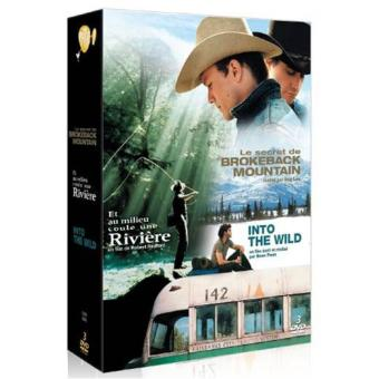 Into the Wild - Le Secret de Brokeback Mountain - Et au milieu coule une rivière - Coffret