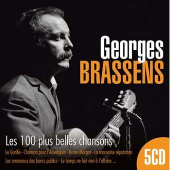 Les 100 plus belles chansons coffret georges brassens - Brassens les amoureux des bancs publics ...