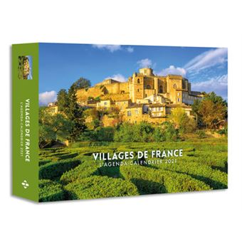 L'Agenda calendrier Villages de France 2021   relié   Collectif