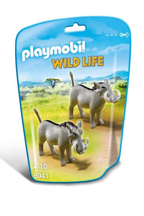 Playmobil Wild Life 6941 Phacochères