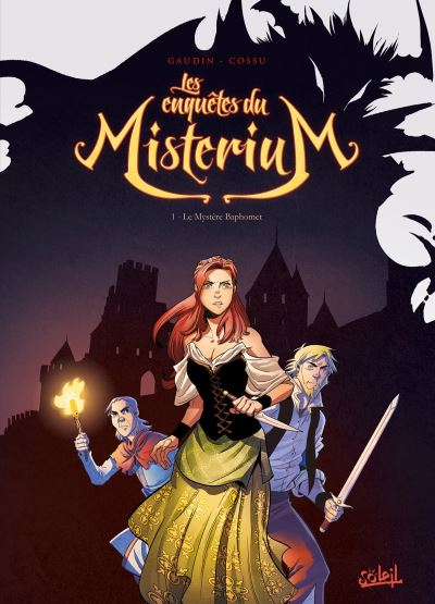 Les Enquêtes du Misterium T1 - Le Mystère Baphomet